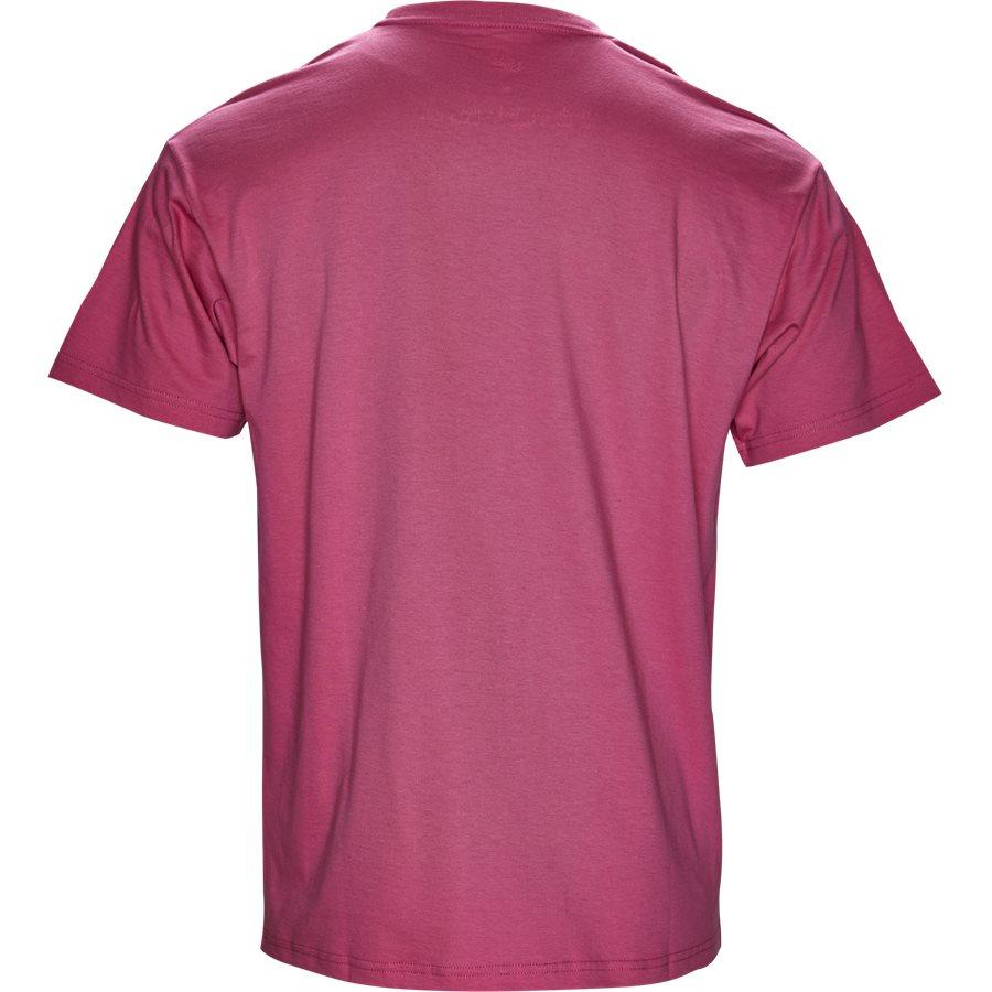S/S NEU DRIVE I024760 - S/S Neu Drive - T-shirts - Regular - WILDBERRY/WHI - 2