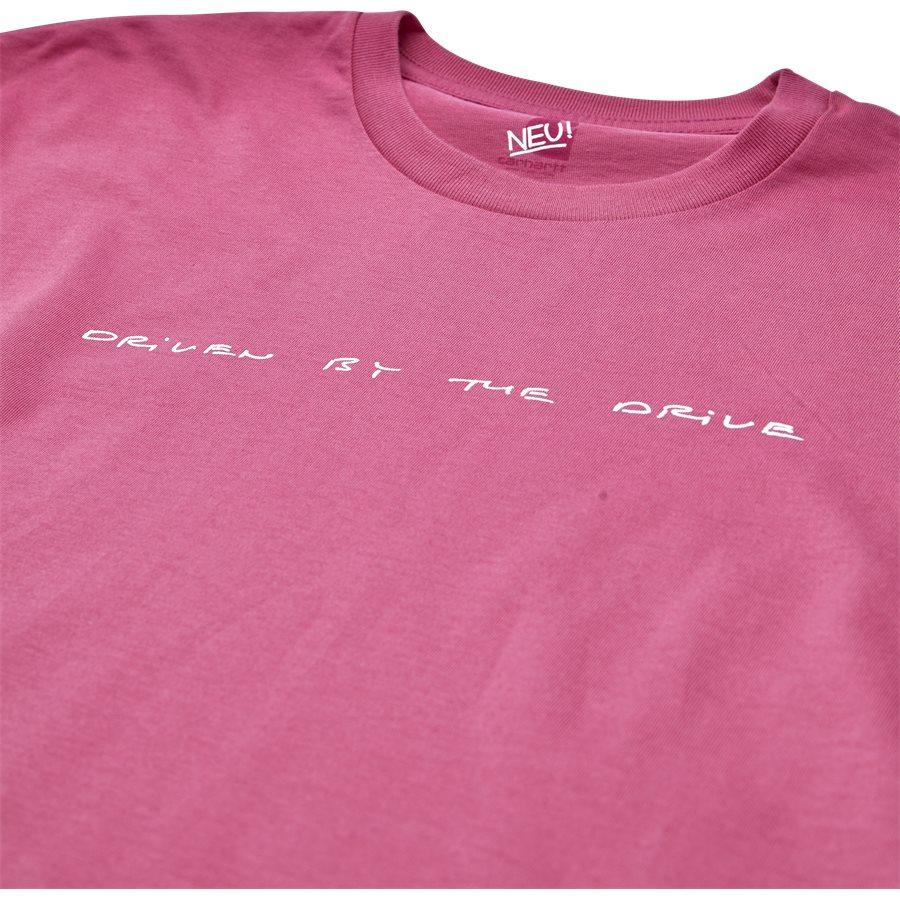 S/S NEU DRIVE I024760 - S/S Neu Drive - T-shirts - Regular - WILDBERRY/WHI - 3