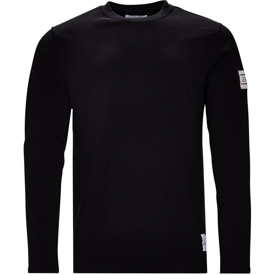 FLORES - Flores - T-shirts - Regular - BLACK - 1