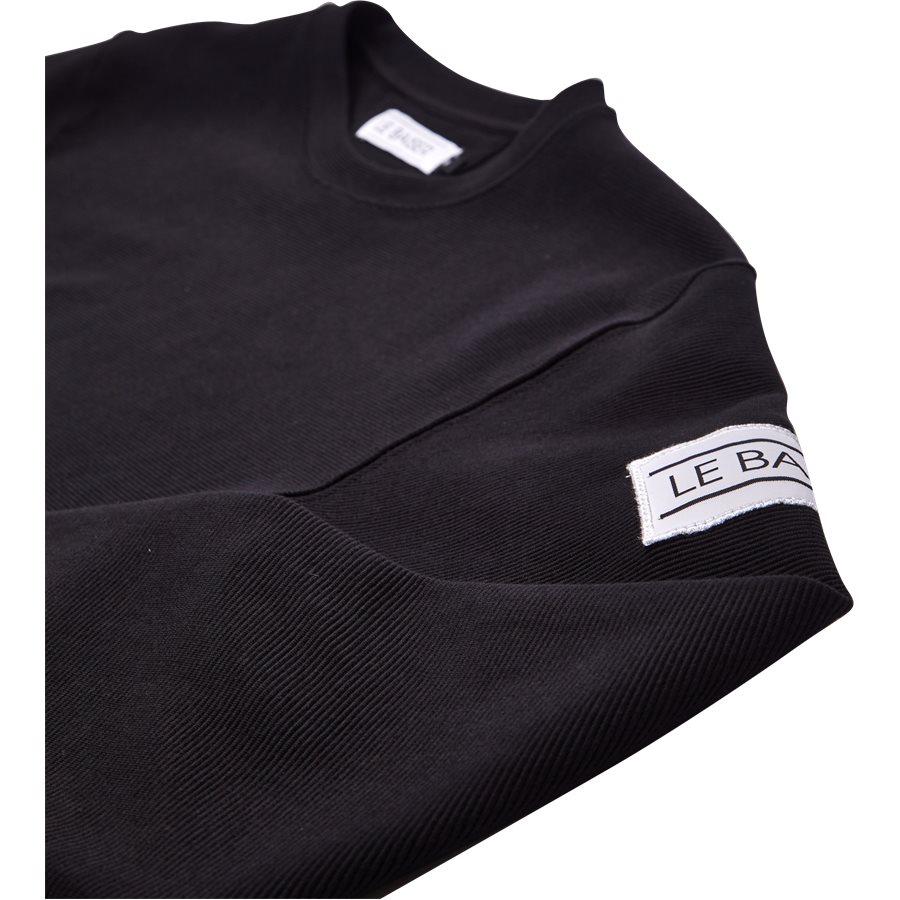 FLORES - Flores - T-shirts - Regular - BLACK - 3