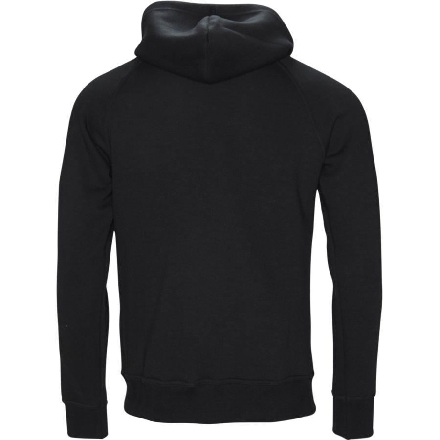 OFFICER - Officer Sweatshirt - Sweatshirts - Regular - BLACK - 2