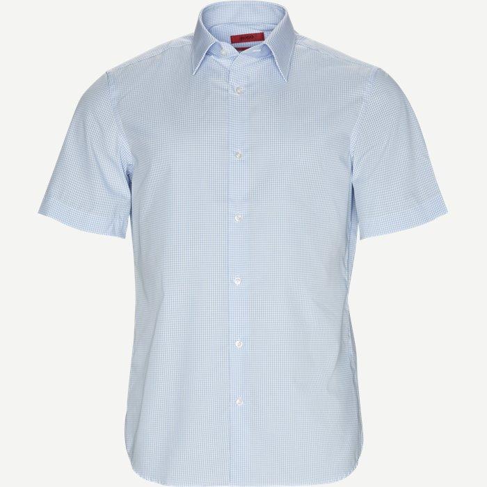 Venzino Kortærmet Skjorte - Kortærmede skjorter - Regular - Blå