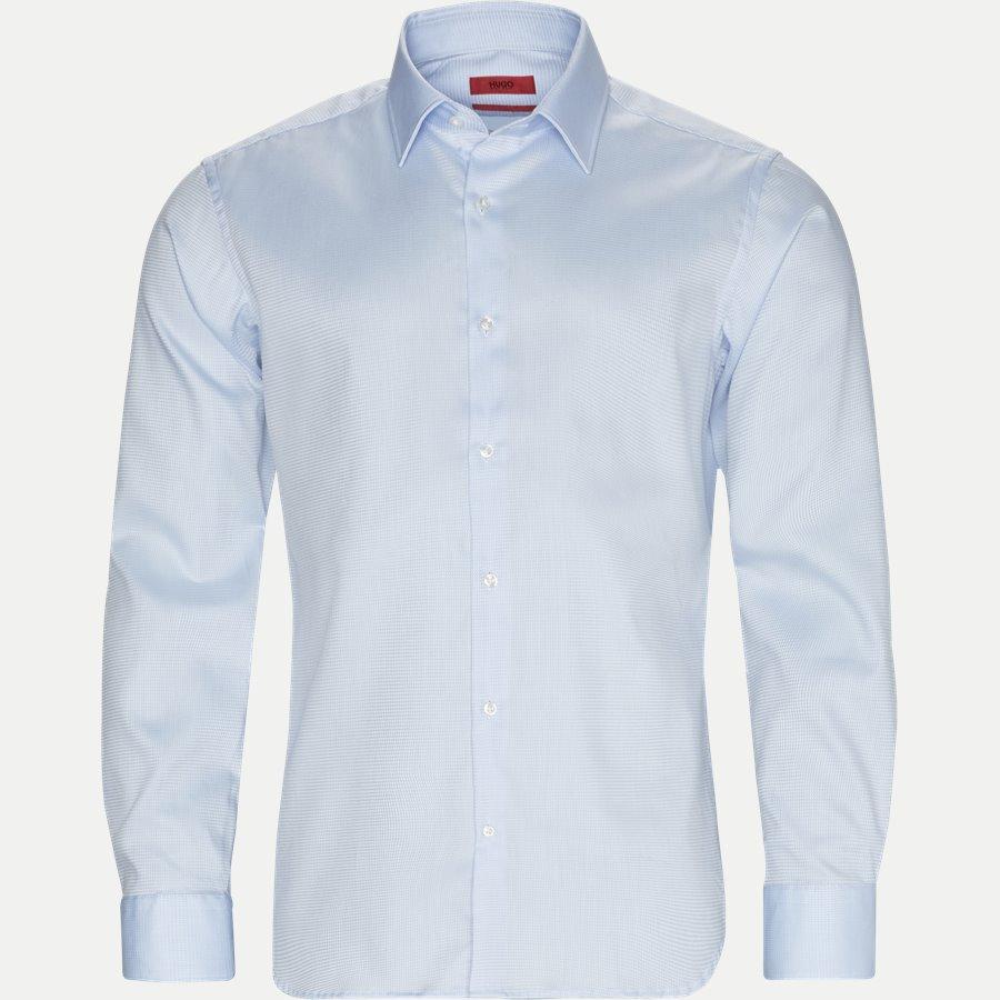 7936 VENZO - Venzo Skjorte - Skjorter - Regular - LYSBLÅ - 1