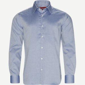 Venzo Skjorte Regular | Venzo Skjorte | Blå