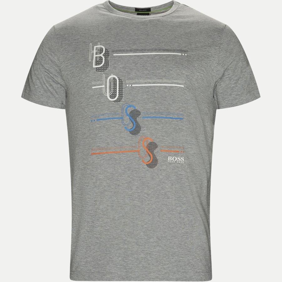 50389085 TEE 3 - Tee3 T-shirt - T-shirts - Regular - GRÅ - 1