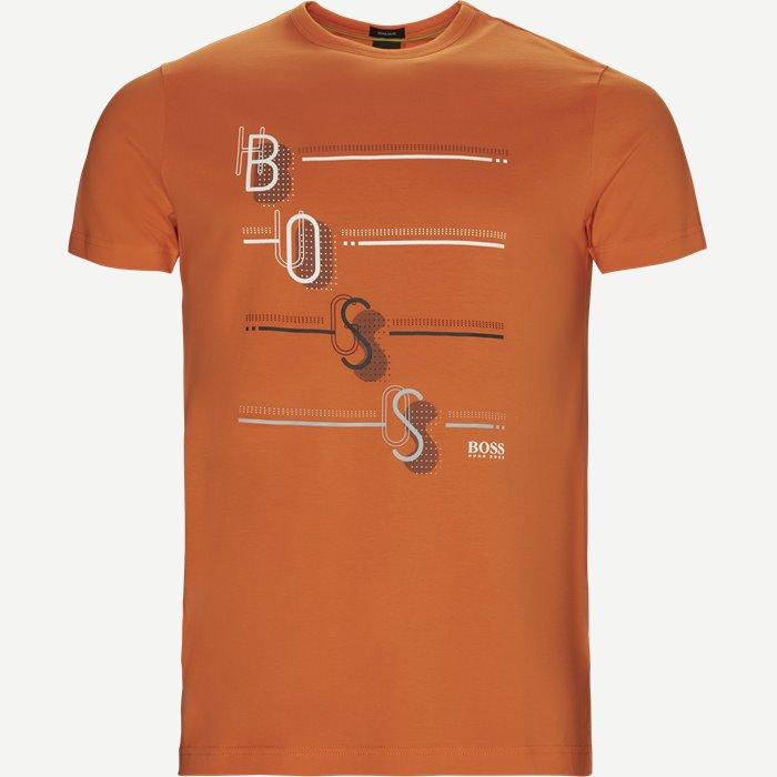 Tee3 T-shirt - T-shirts - Regular - Orange