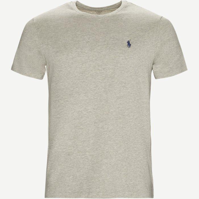 Short Sleeve Jersey T-shirt - T-shirts - Custom - Grå