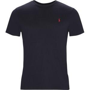 Short Sleeve Jersey T-shirt Custom | Short Sleeve Jersey T-shirt | Blå
