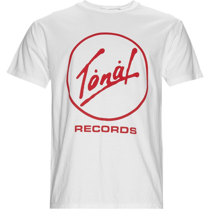 Records - T-shirts - Regular - Hvid