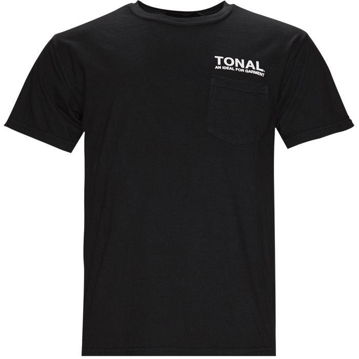 Ideal - T-shirts - Regular - Sort