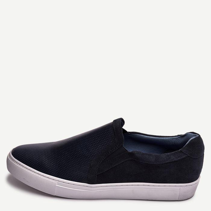 Slip On Sneaker - Sko - Blå