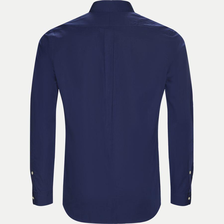 710548534 - Poplin Button-Down Shirt - Skjorter - Regular - NAVY - 2