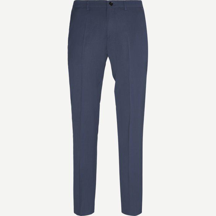 Barlow Suiting Pants - Bukser - Slim - Blå
