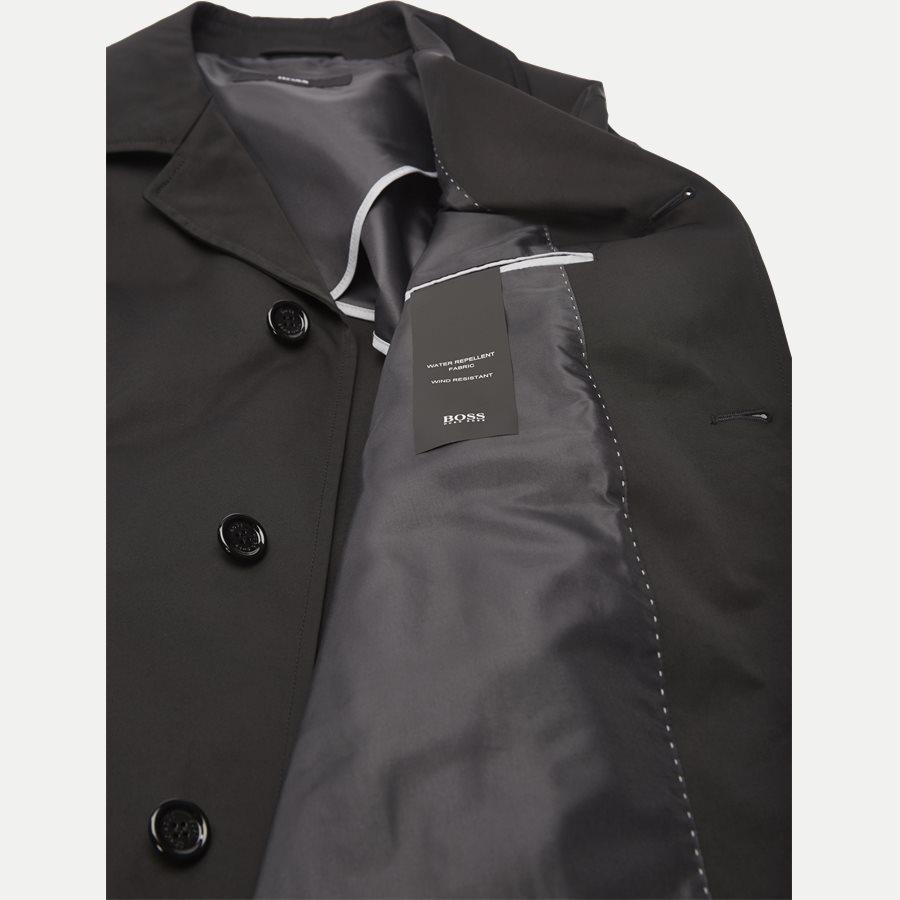 50382072 DAIS - Dias15 Raincoat - Jakker - Slim - SORT - 7
