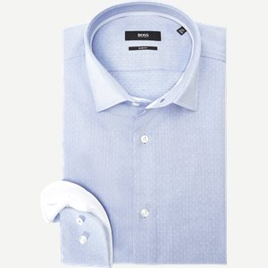 Jesse Skjorte Slim | Jesse Skjorte | Blå