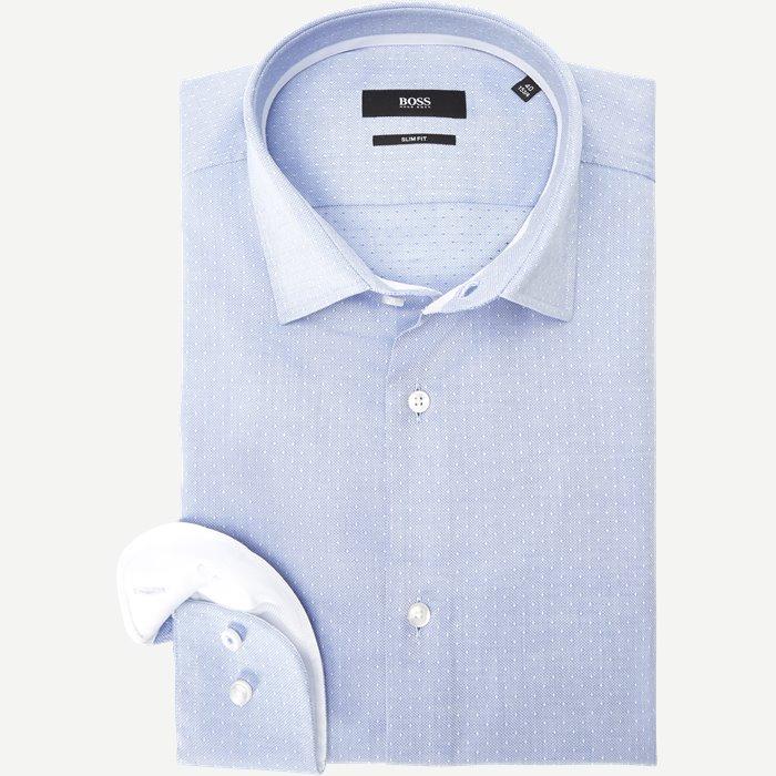 Jesse Skjorte - Skjorter - Slim - Blå