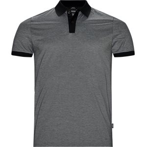 Philipson27 Polo T-shirt Slim | Philipson27 Polo T-shirt | Sort