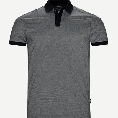 Philipson27 Polo T-shirt Slim | Philipson27 Polo T-shirt | Sort