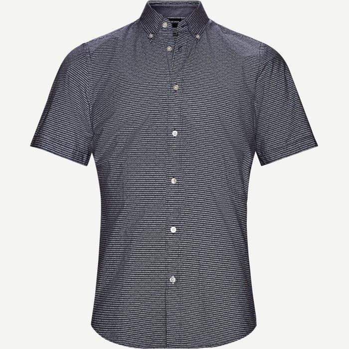 Lodi Kortærmet Skjorte - Kortærmede skjorter - Regular - Blå