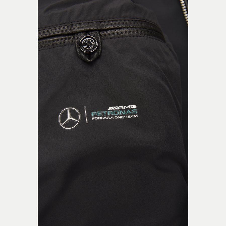 50382369 NYANO - Nyano Mercedes-Benz Petronas Læder Jakke - Jakker - Regular - SORT - 10