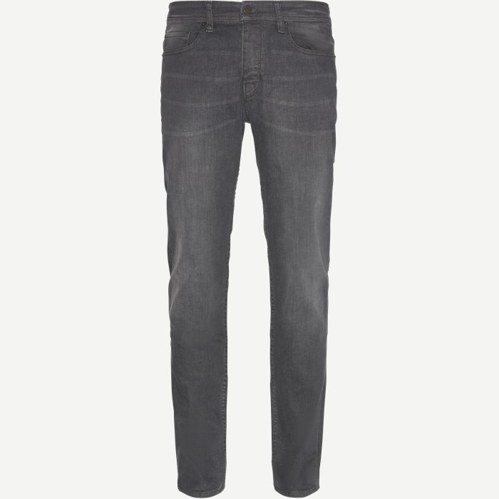 Jeans - Tapered fit - Grau