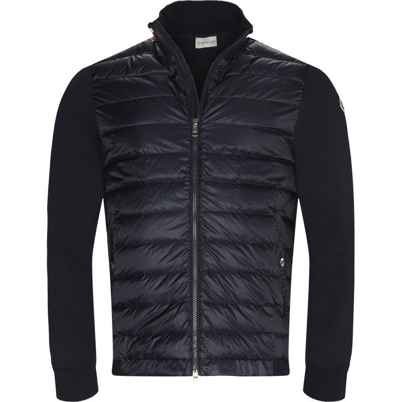Moncler regular fit 84163 80985 sweatshirts navy fra moncler på axel.dk