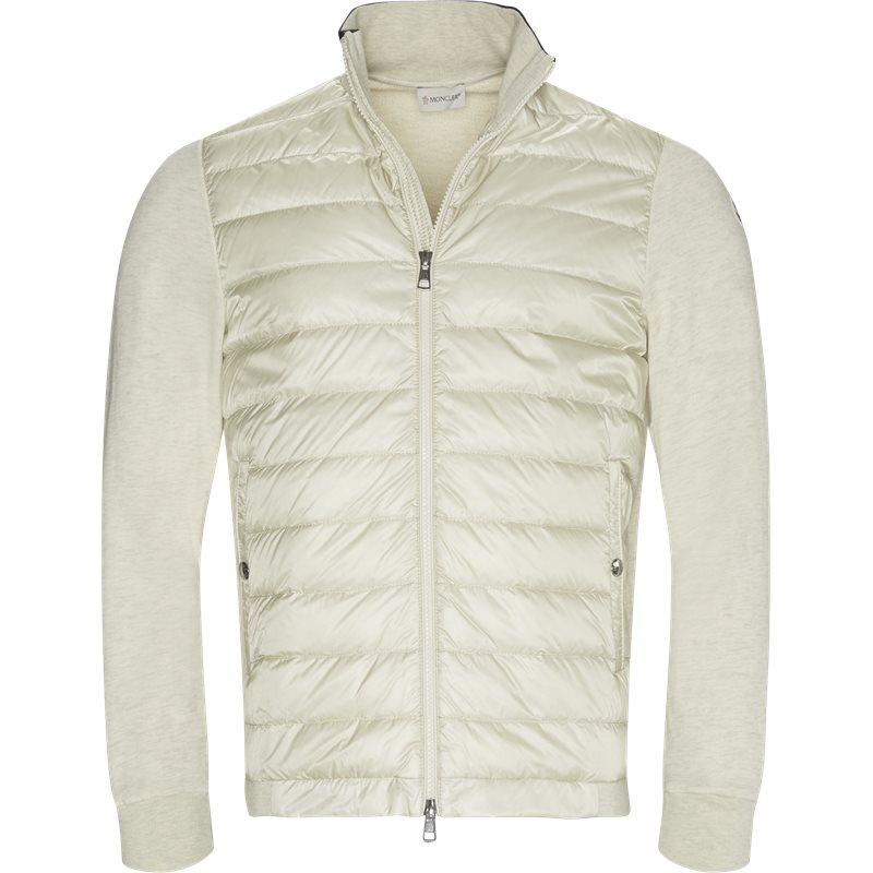 moncler Moncler regular fit 84163 80985 sweatshirts sand på axel.dk
