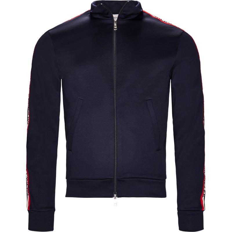moncler Moncler sweatshirt navy på axel.dk