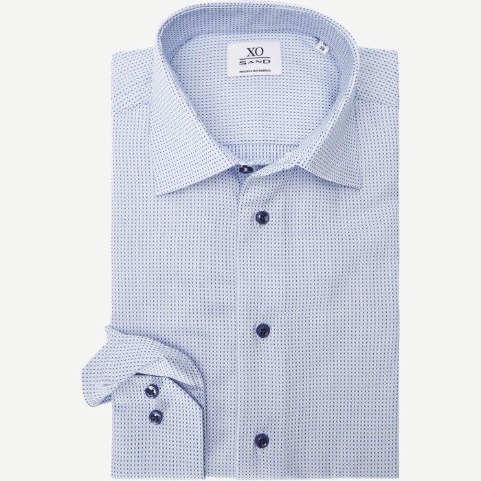 8944  Jake/Gordon Skjorte - Skjorter - Blå
