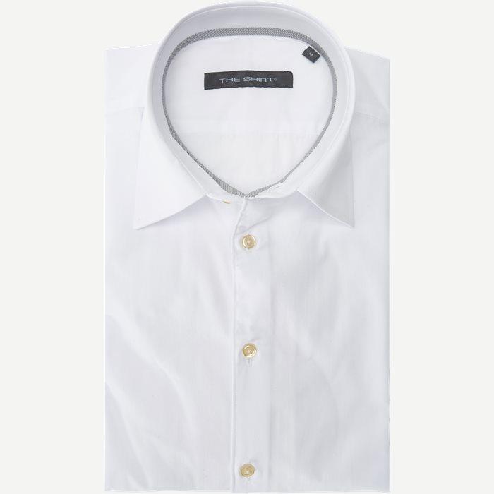Cruise Shirt - Skjorter - Slim - Hvid