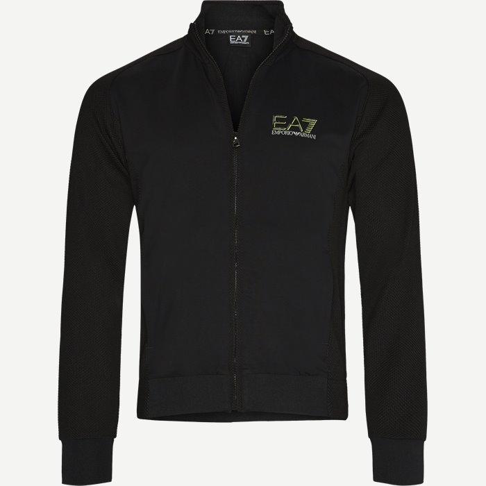 Sweatshirt - Sweatshirts - Regular - Sort