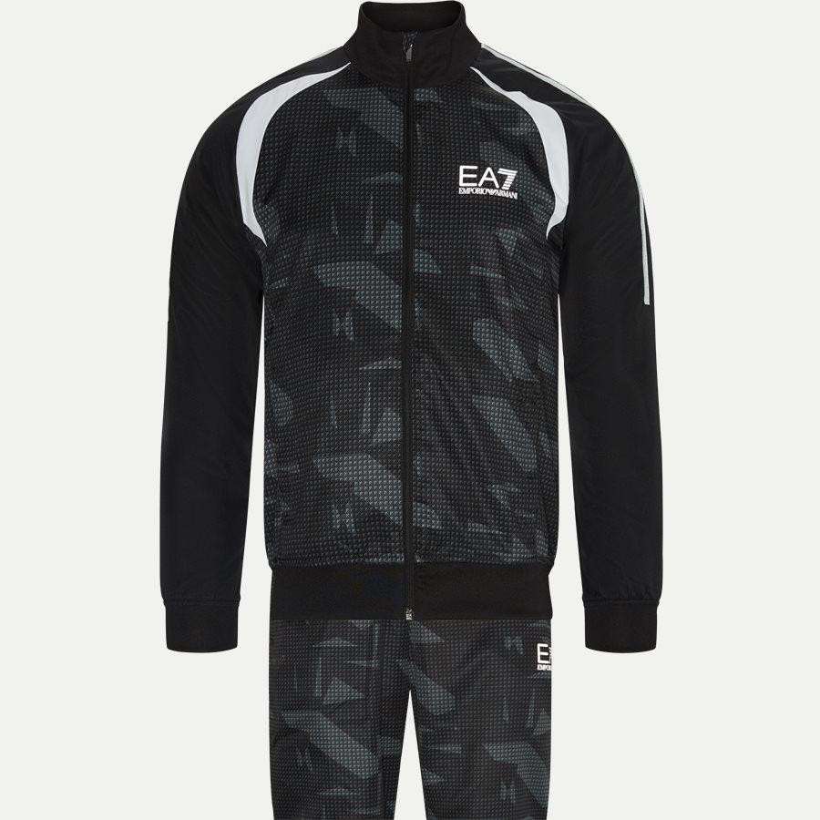 PN30Z-3ZPV02 - Tracksuit - Sweatshirts - Regular - SORT - 1