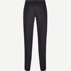 Suede Touch Burton Jeans Regular | Suede Touch Burton Jeans | Blå