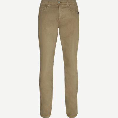 Suede Touch Burton Jeans Regular | Suede Touch Burton Jeans | Sand