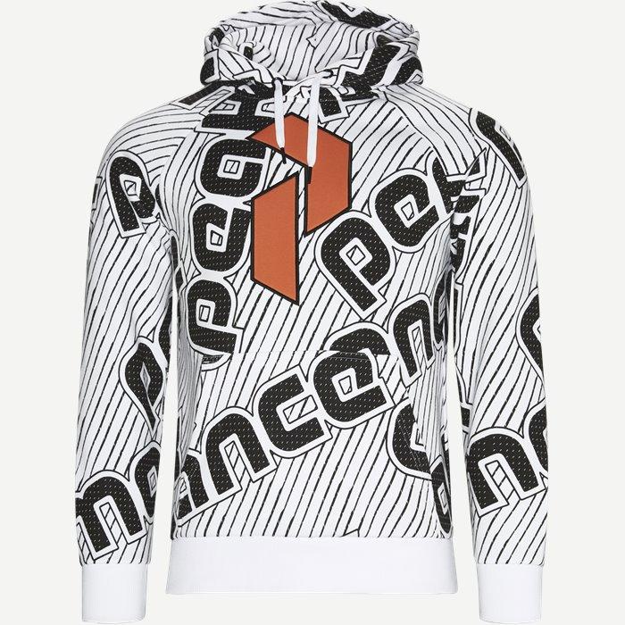 Sweatshirts - Regular - Vit