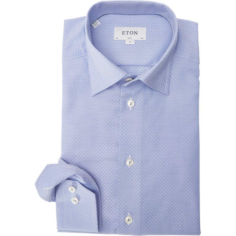 Eton - Pinpoint Skjorte