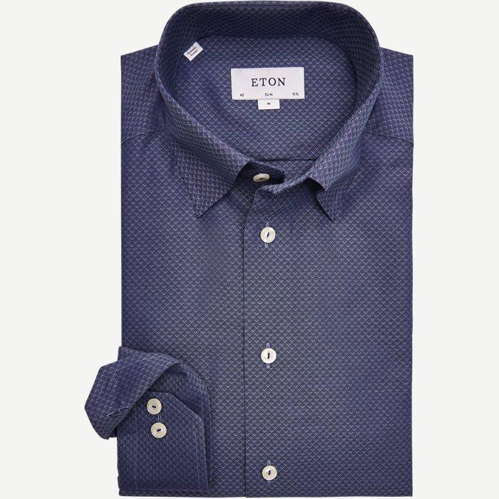 4708 Pinpoint Skjorte - Skjorter - Blå