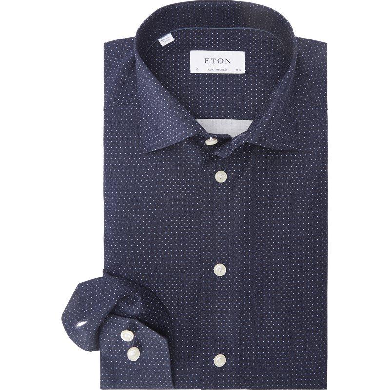 Eton - Poplin Skjorte