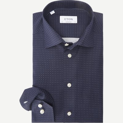 2078 Poplin Skjorte 2078 Poplin Skjorte | Blå