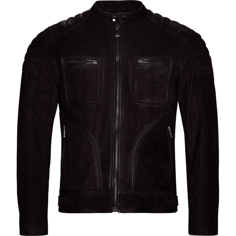 Belstaff jakke black fra belstaff fra Edgy