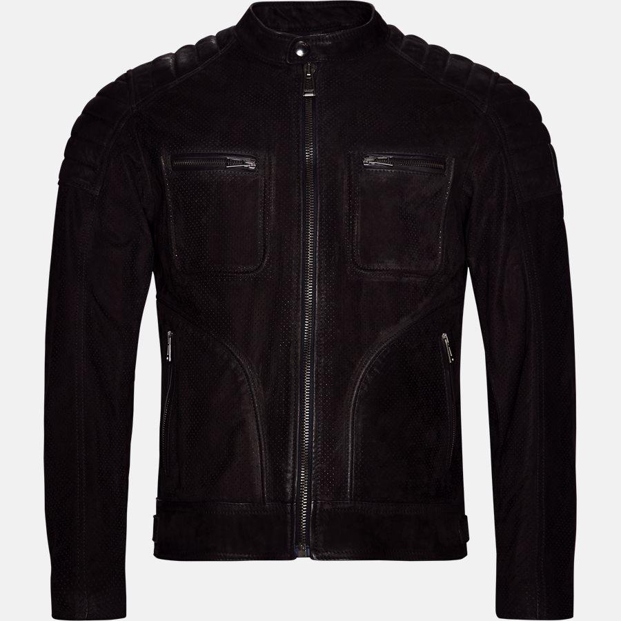 71020620 WEYBRIGDE PERFORATED - Jakke - Jakker - Regular fit - BLACK - 1