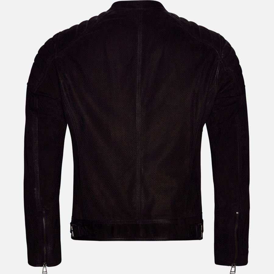 71020620 WEYBRIGDE PERFORATED - Jakke - Jakker - Regular fit - BLACK - 2