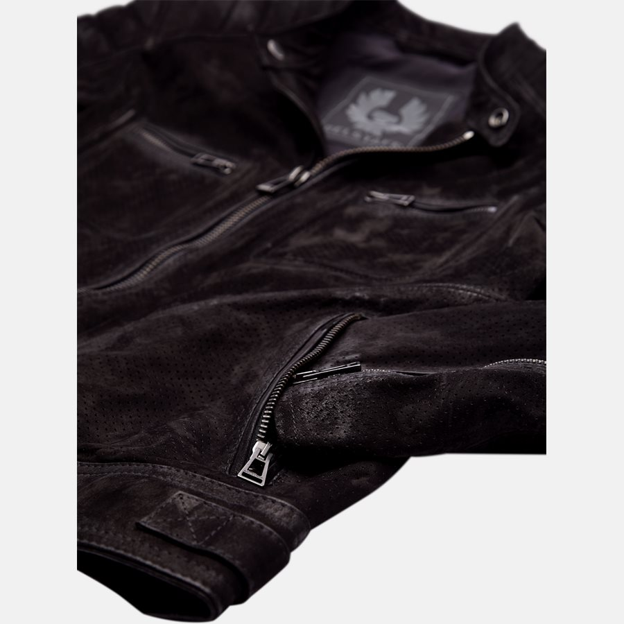 71020620 WEYBRIGDE PERFORATED - Jakke - Jakker - Regular fit - BLACK - 4