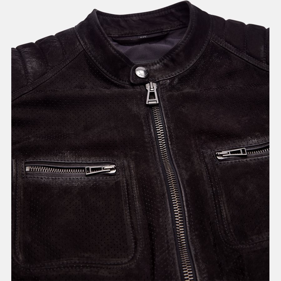 71020620 WEYBRIGDE PERFORATED - Jakke - Jakker - Regular fit - BLACK - 8