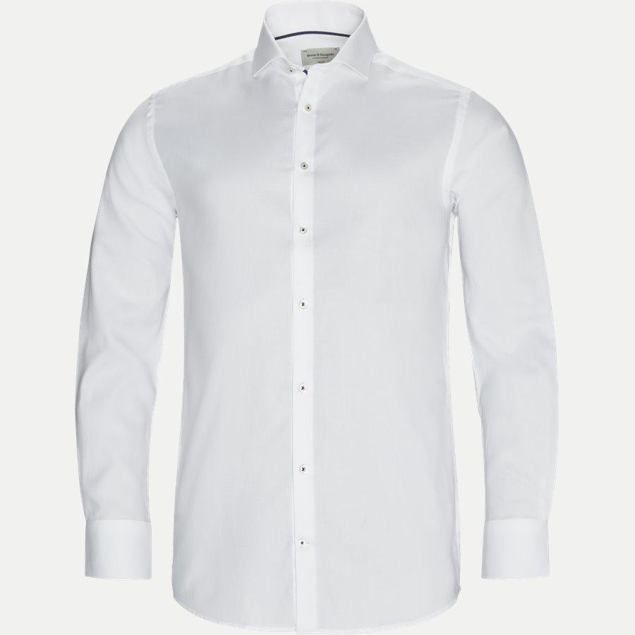 BREAK - Break Skjorte - Skjorter - Slim - HVID - 1