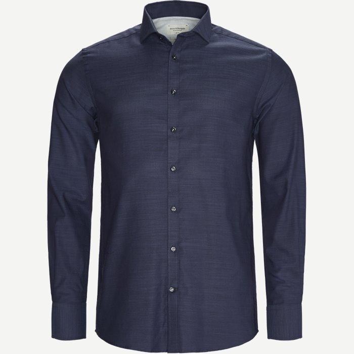 Franklin Skjorte - Skjorter - Slim - Blå