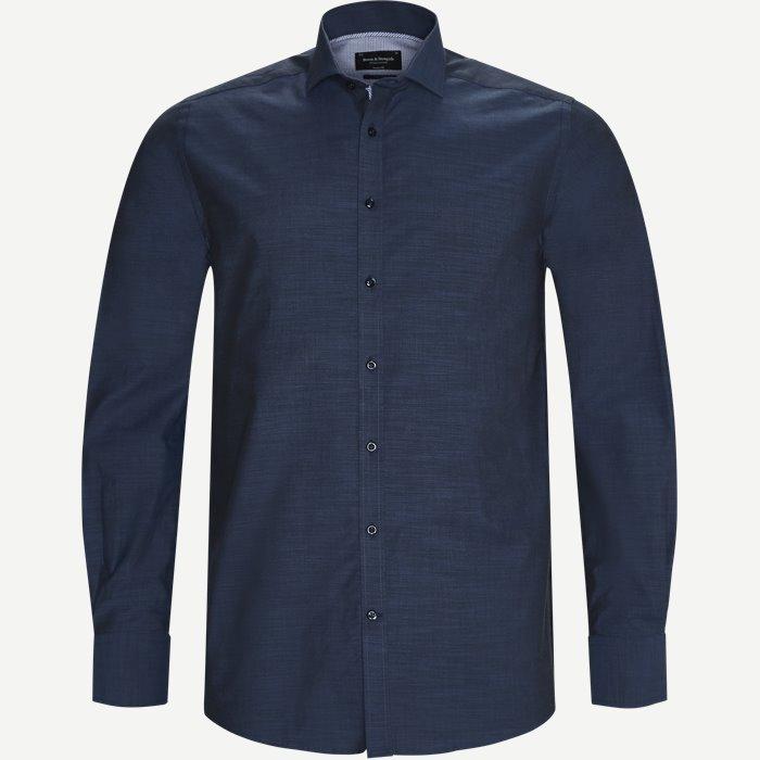 Klavan Skjorte - Skjorter - Blå