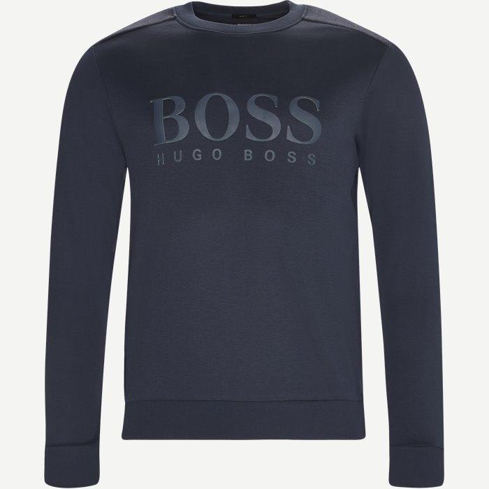 Salbo Sweatshirt - Sweatshirts - Slim - Blå