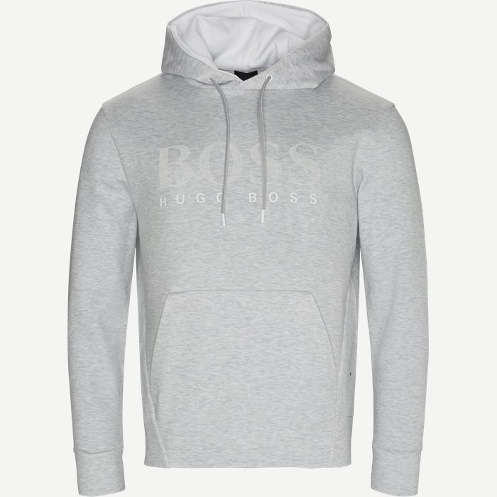 Soody Sweatshirt - Sweatshirts - Custom fit - Grå