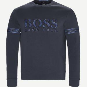 Salbonic Sweatshirt Slim | Salbonic Sweatshirt | Blå